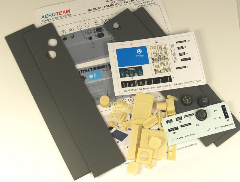 3022/4 Fw - 190 A side panels kit