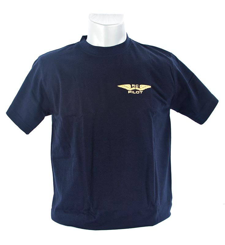 T-shirt RC pilot - colour NAVY