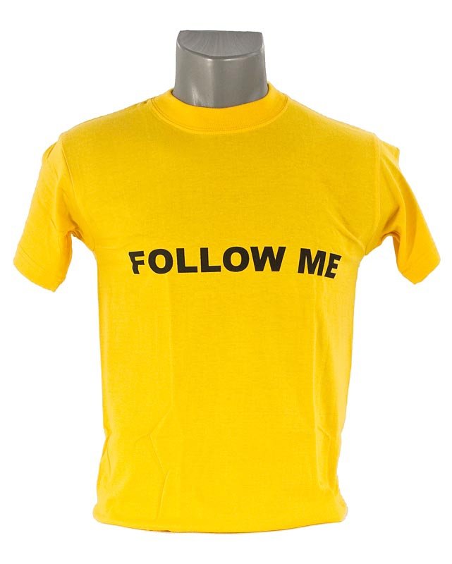 T-shirt Follow me