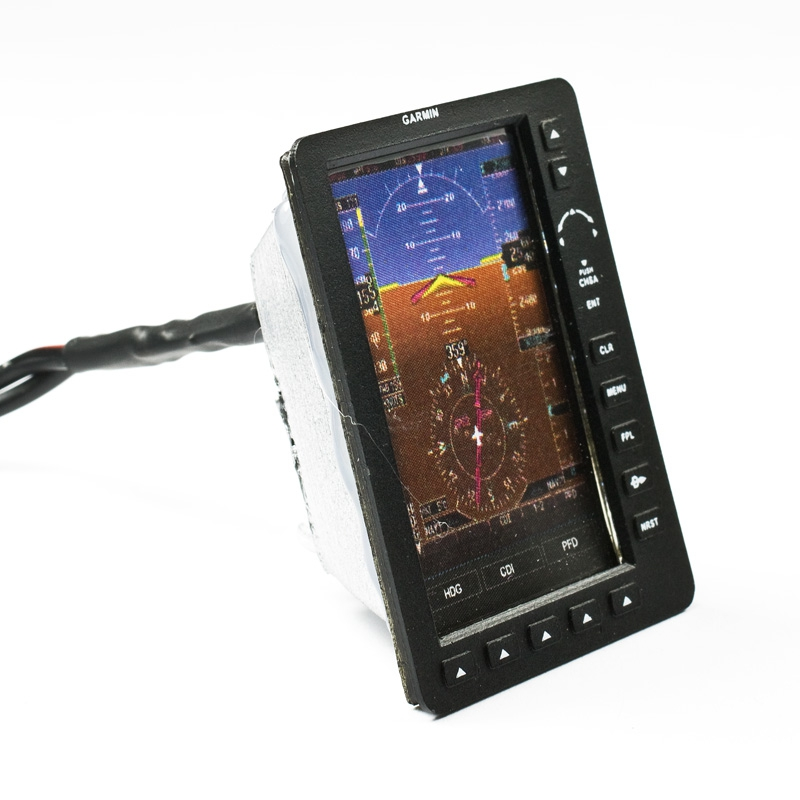 GPS Garmin with illuminated display