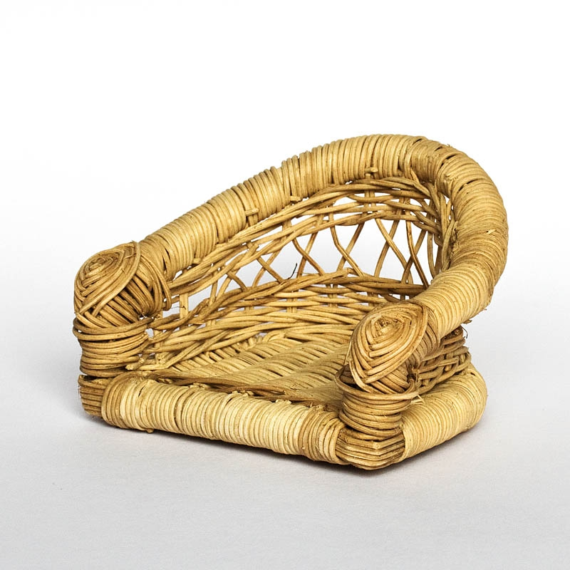 Rattan seat for English scout